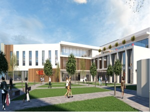 another architect image of the proposed skills and innovation hub