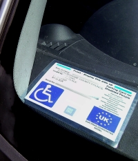 Disabled Blue Badge