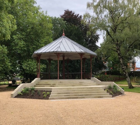 new bandstand