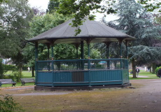 Bandstand before