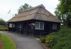 The Thatched Shelter before