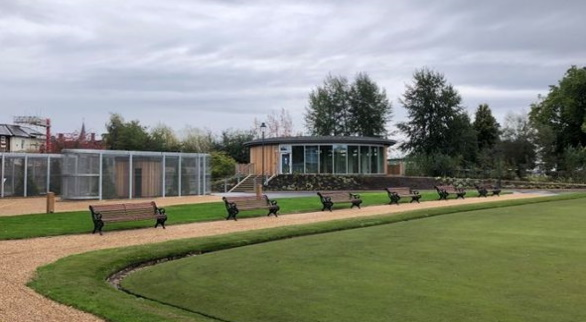 New Aviaries pictured alongside Albert's Cafe